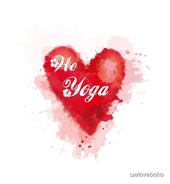 We love Yoga by weloveboho