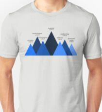 Seven Mountain Summits Unisex T-Shirt