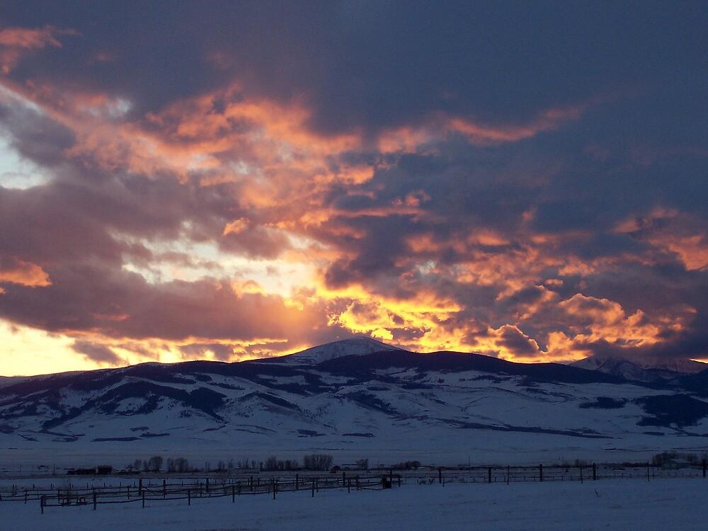 Montana Sunset by postmsterjim0