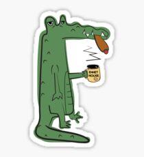 Infinite Jest - The Crocodiles Sticker