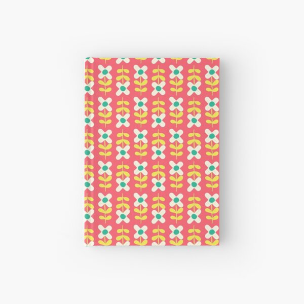 Bohemian Flower Patterns  Hardcover Journal