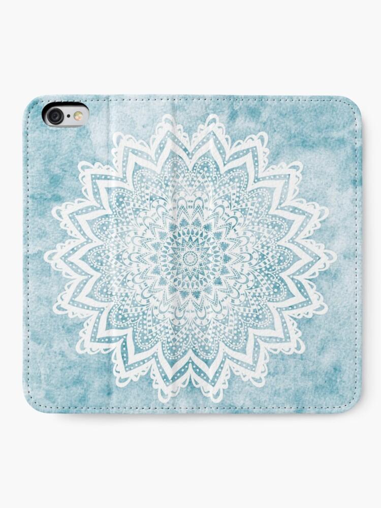 Alternate view of MANDALA SAVANAH LIGHT BLUE iPhone Wallet