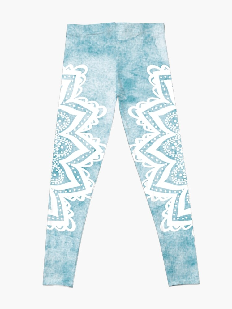 Alternate view of MANDALA SAVANAH LIGHT BLUE Leggings