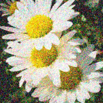 Impressionist Daisy by HouseofSixCats