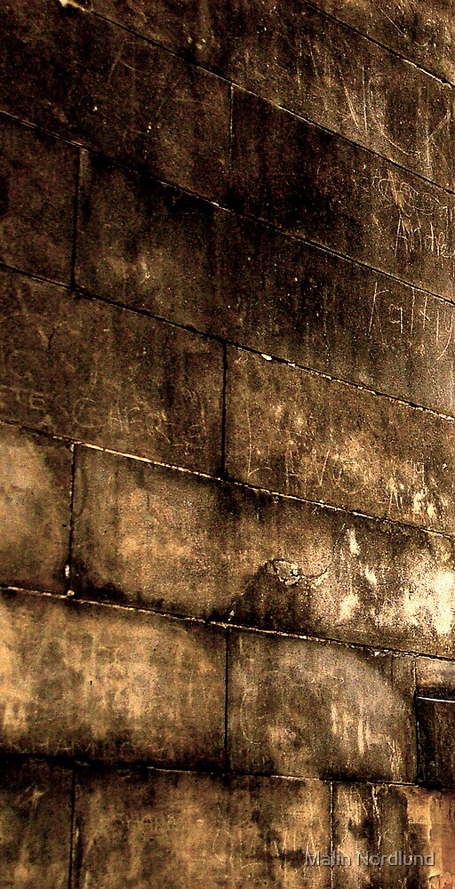A wall of texture by Malin Nordlund