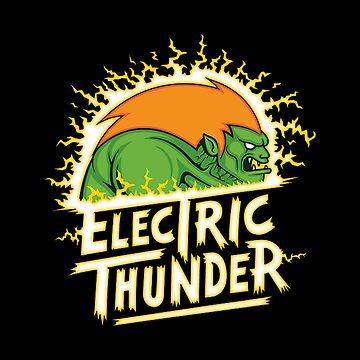 electric thunder by nurelcamelia