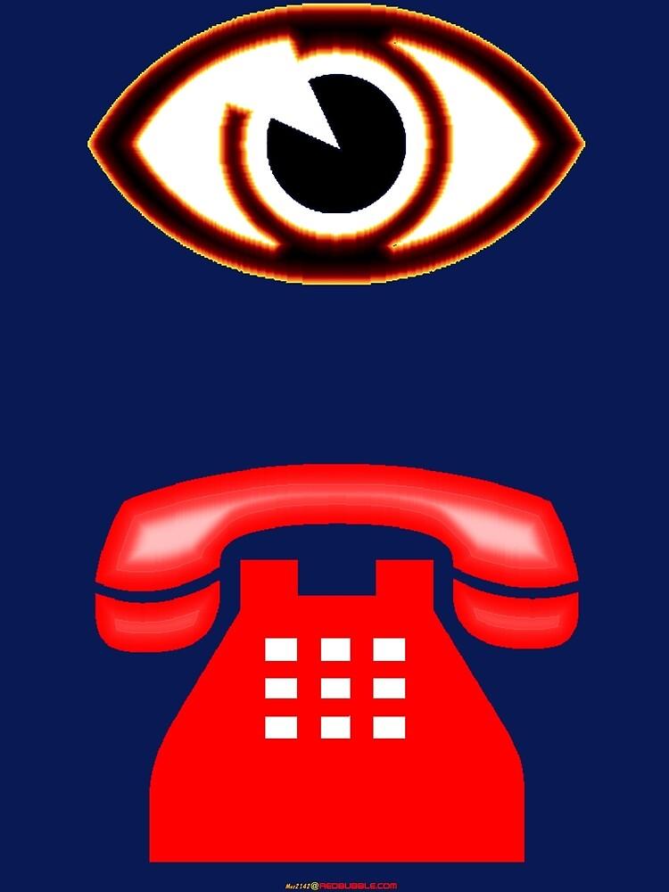 Eye Phone T-shirt Design by muz2142