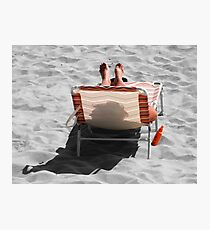 Catching Selective Rays Photographic Print