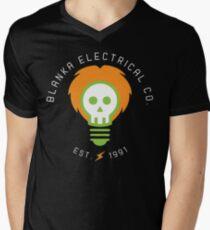 blanka electrical co. Mens V-Neck T-Shirt