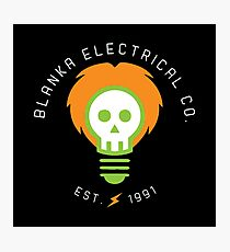blanka electrical co. Photographic Print