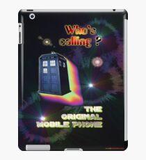 Who's Calling? The Original Mobile Phone Design iPad Case/Skin