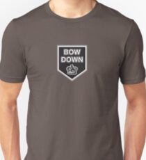 Bow Down to the Crown Unisex T-Shirt