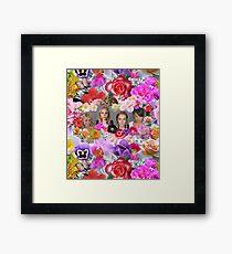 Princesses mugshots Framed Print