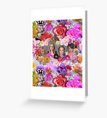 Princesses mugshots Greeting Card