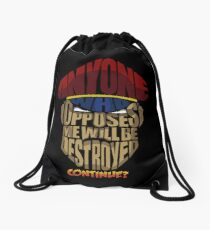 m bison wins Drawstring Bag