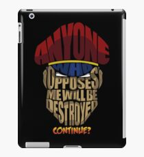 m bison wins iPad Case/Skin