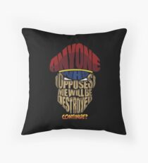 m bison wins Throw Pillow