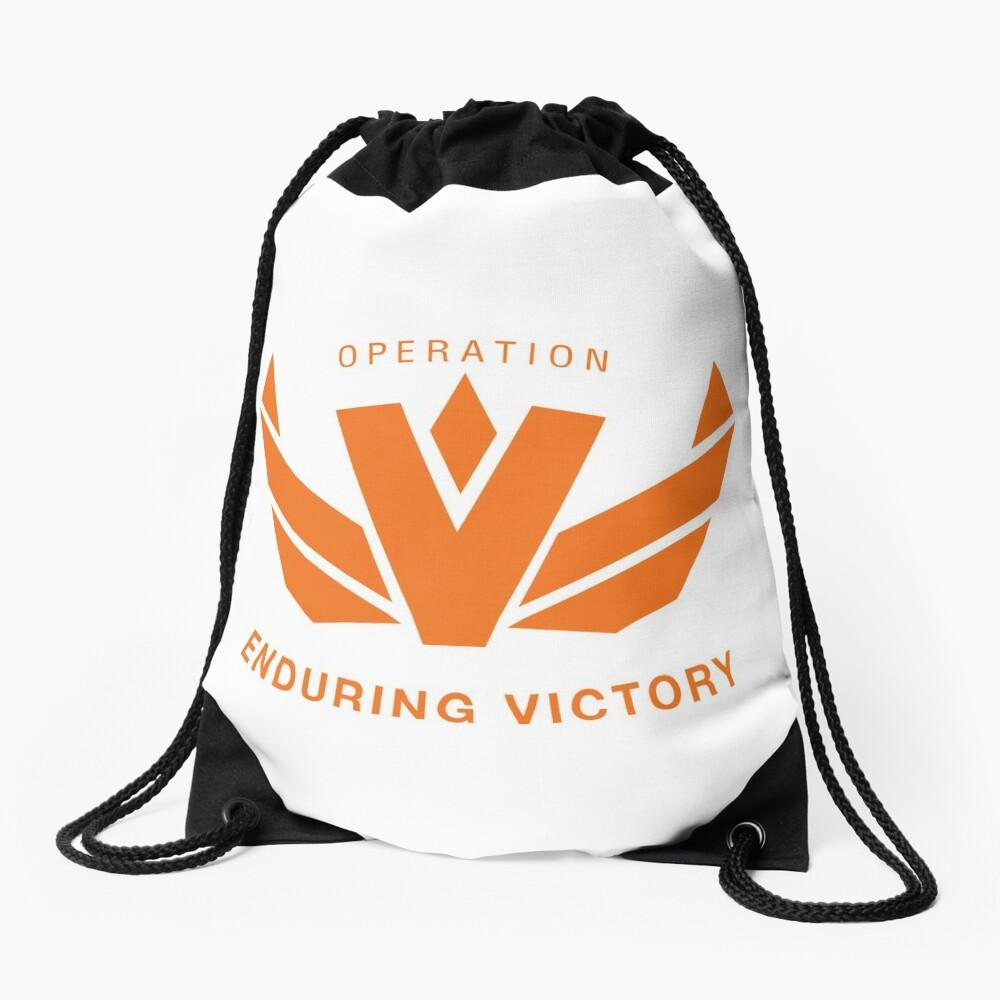 Operation Enduring Victory Drawstring Bag