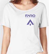 FARO Automated Solutions Women's Relaxed Fit T-Shirt