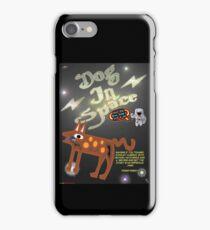 Dog In Space T-shirt Design iPhone Case/Skin