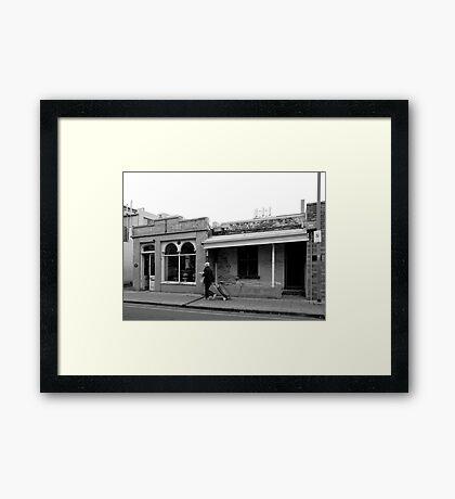 Bin Shopping Framed Print