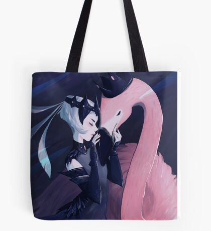 flamingo warrior Tote Bag