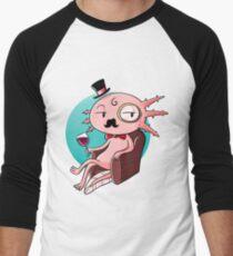 sir axolotl Men's Baseball ¾ T-Shirt