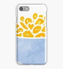 retro cartoon bowl of cereal iPhone Case/Skin
