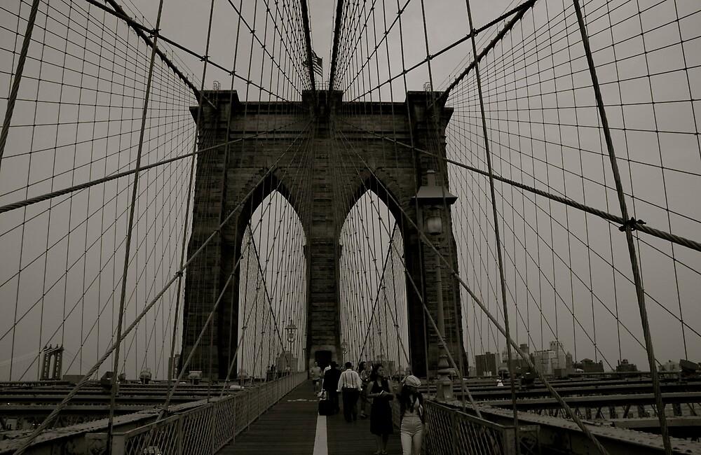 Brooklyn Bridge by eirini