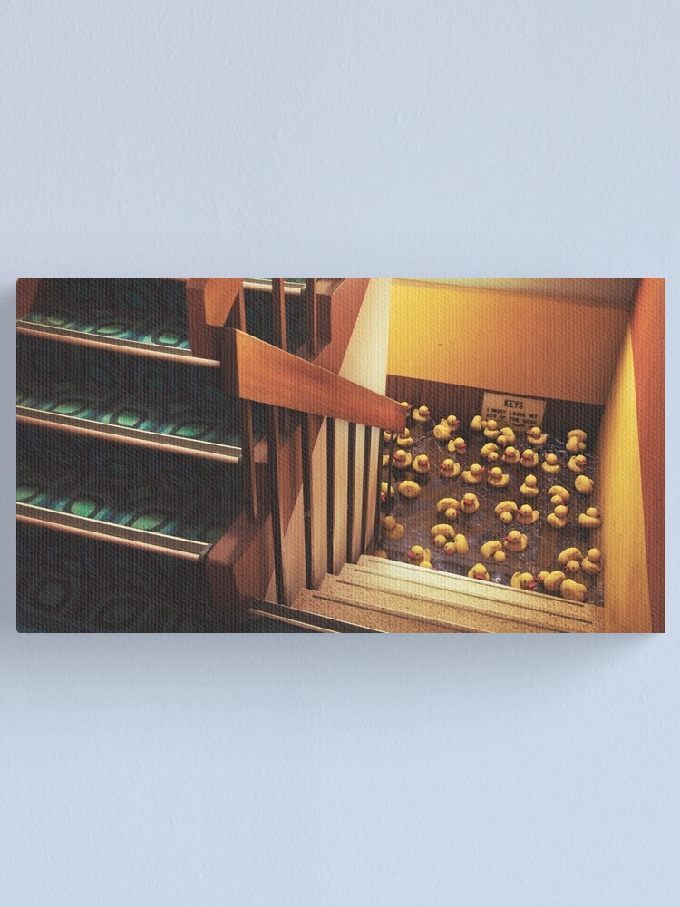 Alternate view of Bad Reception Canvas Print