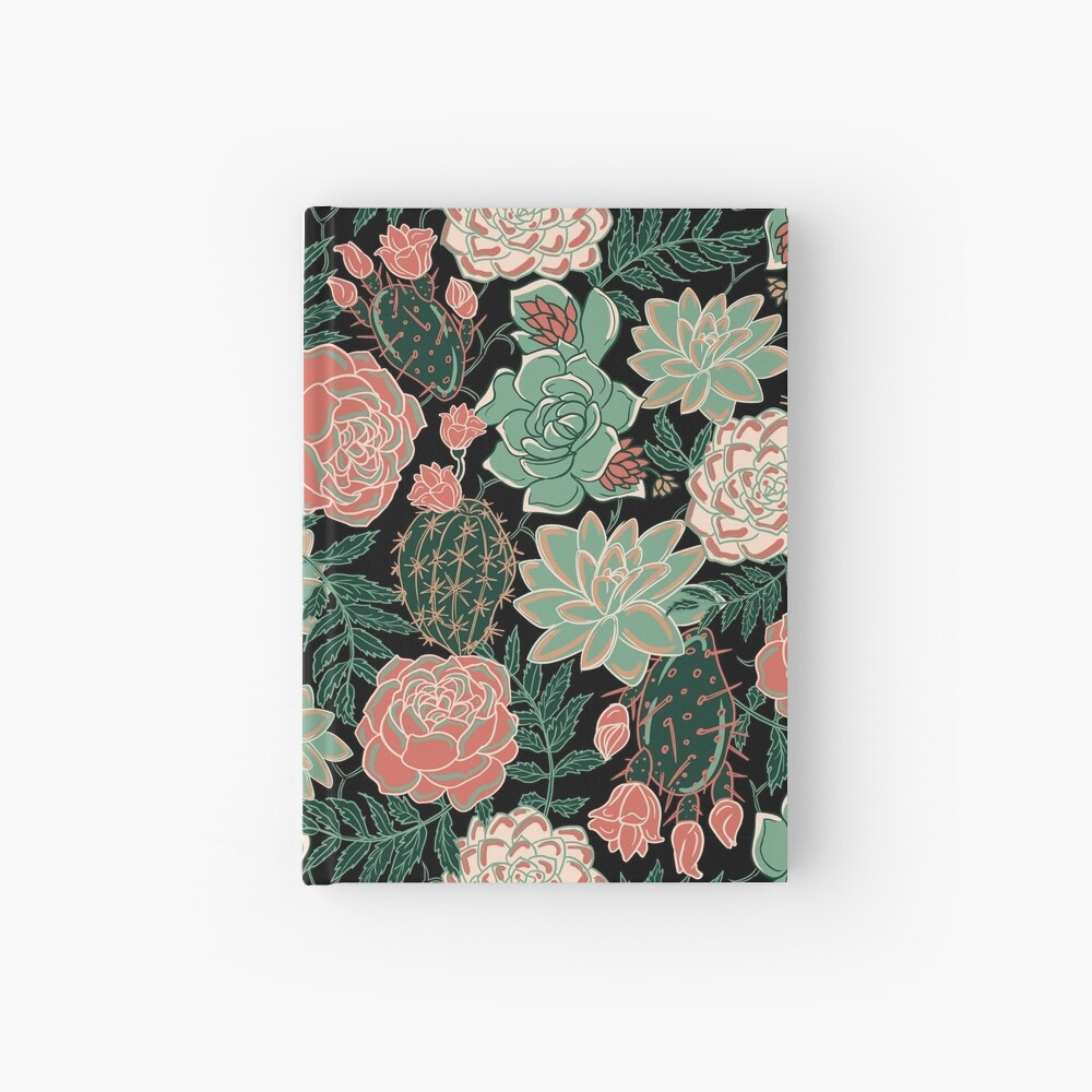 succulent Hardcover Journal
