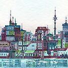 Floating City by katriinaka