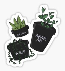 Plants In Tubs Sticker