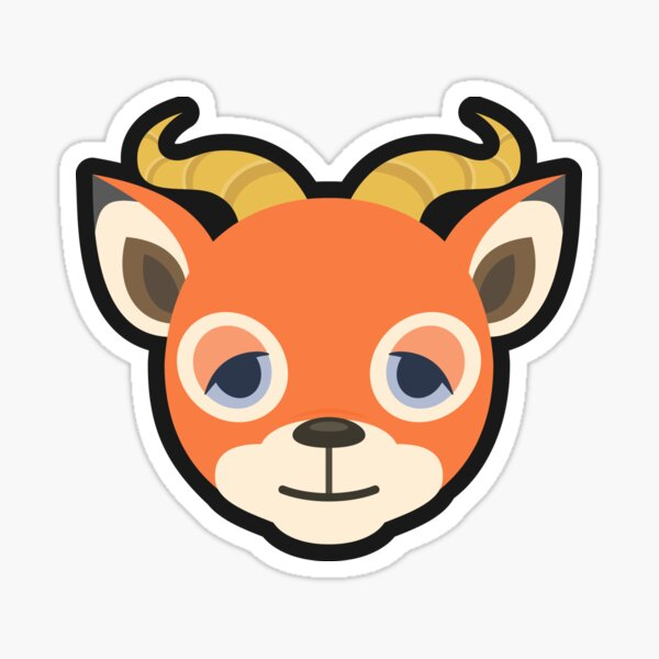 BEAU ANIMAL CROSSING Sticker