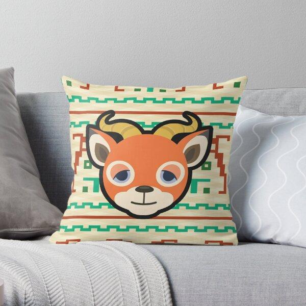 BEAU ANIMAL CROSSING Throw Pillow