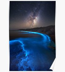 Milky Bioluminescence - 2nd Edition Poster