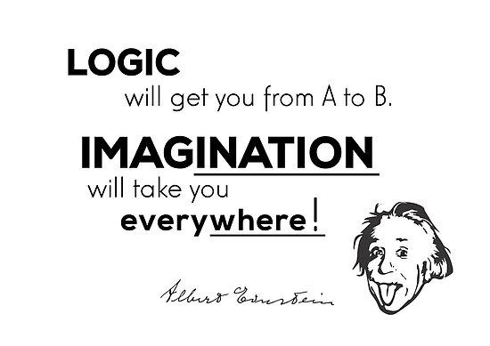imagination is more important - albert einstein by razvandrc