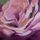 'Pink Bloom' The Rose by Jaana Day