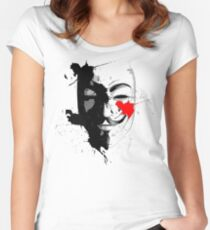 Anonymus Art Women's Fitted Scoop T-Shirt