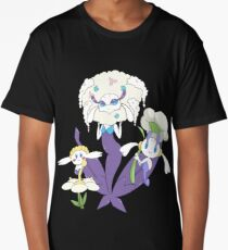 Pokemon Flabebe Floette & Florges Shiny (White Flower) Long T-Shirt