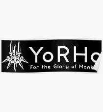 YoRHa - White Poster