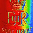 Rainbow post box by MagsArt