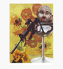 The extortion of Van Gogh Photographic Print