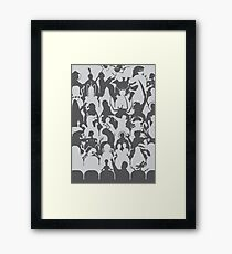 Mystery Theater 3K Framed Print