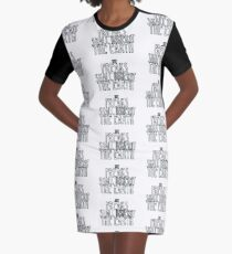 Freaks Shall Inherit the Earth Graphic T-Shirt Dress