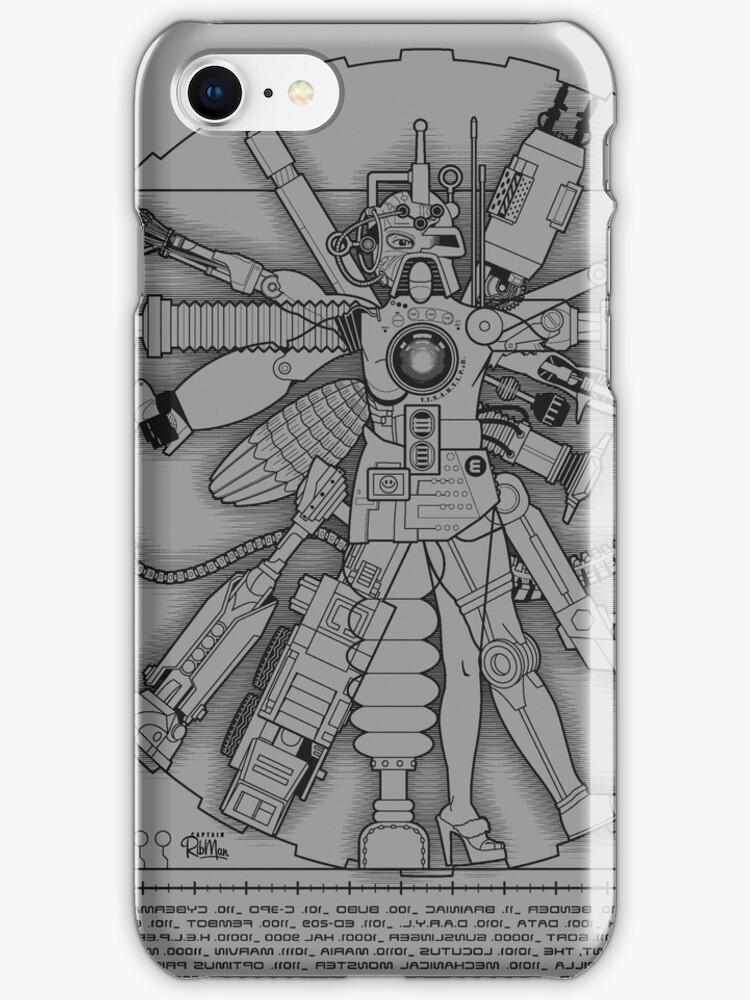 Vitruvian Machine (Black) by Captain RibMan