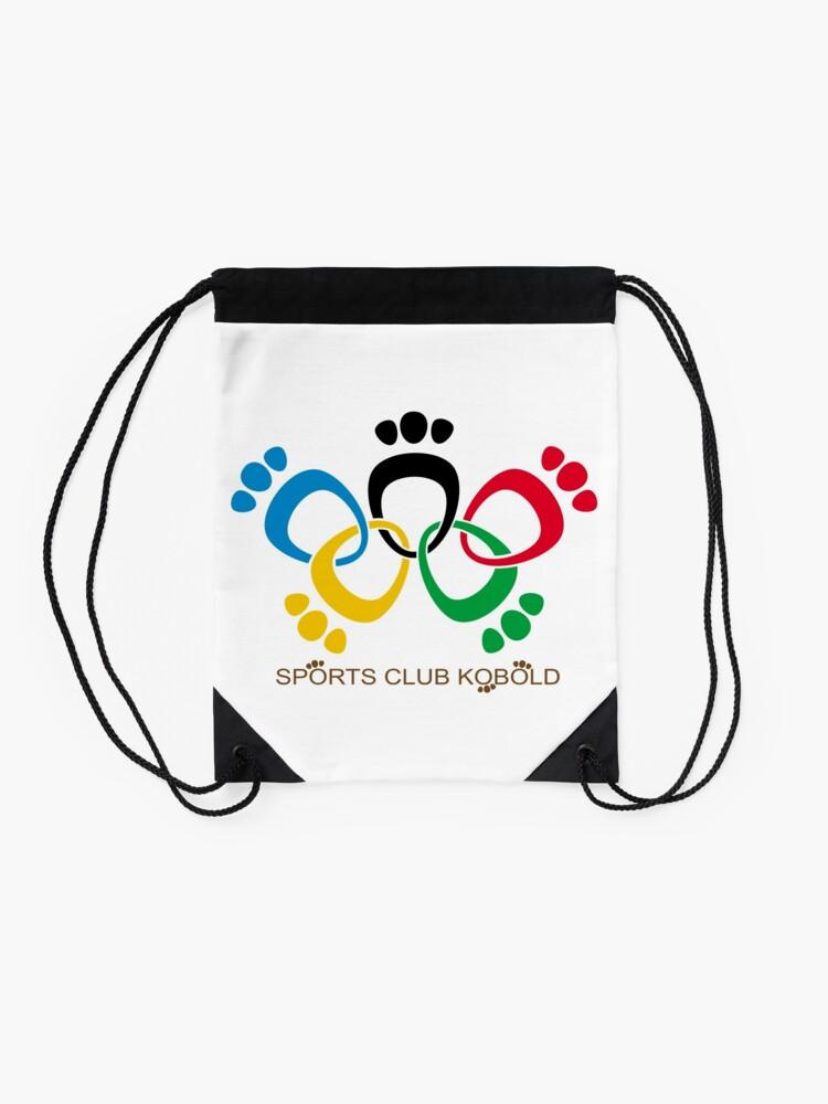 Alternate view of Sports Club Kobold - OAD version Drawstring Bag
