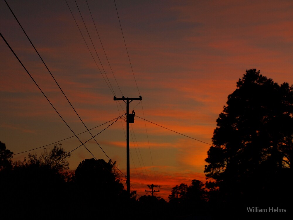 Sunset In Time by William Helms