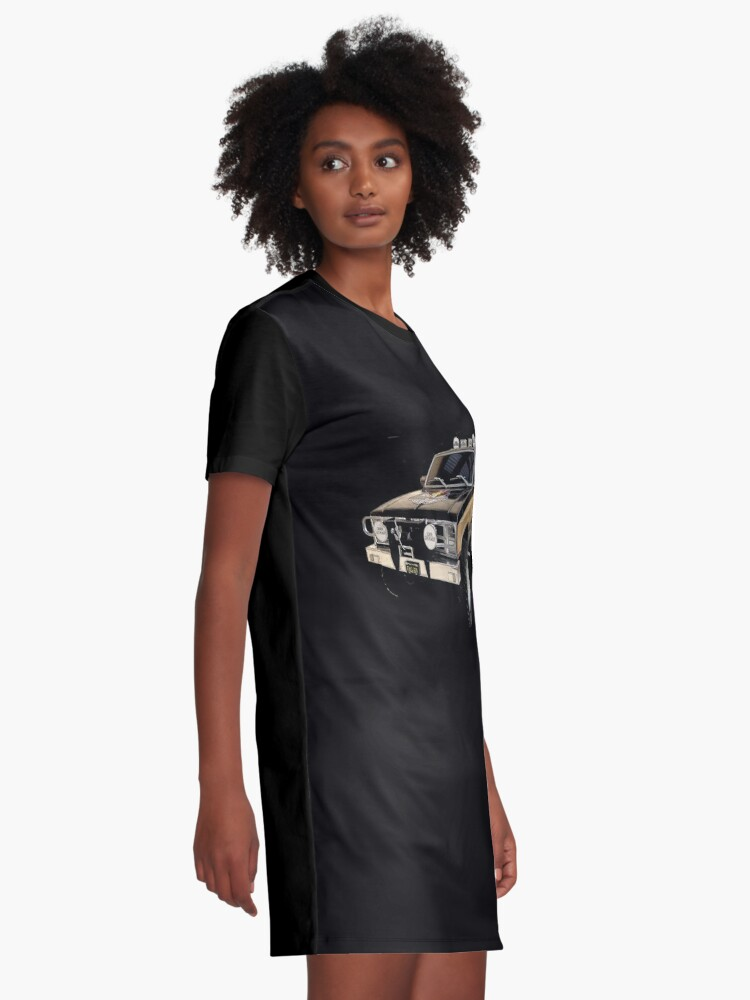 Alternate view of The Fall Guy - GMC Sierra Grande Graphic T-Shirt Dress