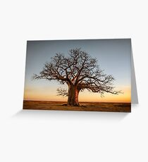 Farewell to the Day Greeting Card